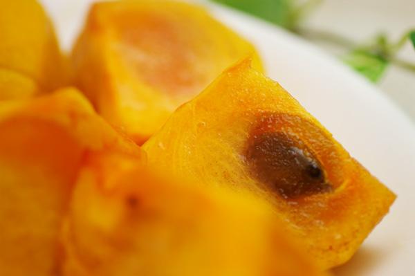 無肥料・自然栽培の柿