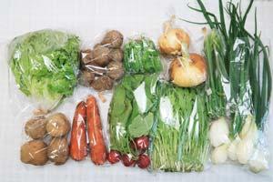 4月20日の無施肥無農薬栽培と自然栽培の野菜の定期宅配セット