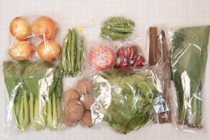 5月24日の無施肥無農薬栽培と自然栽培の野菜の定期宅配セット