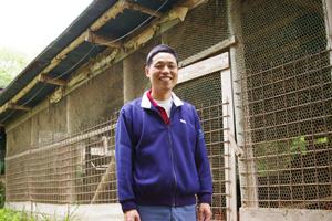 にしはら自然卵養鶏農場の西原さん