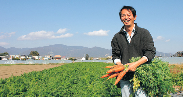 若葉農園横田さん